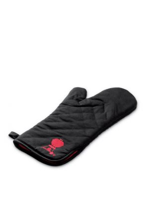 Weber Barbecue Mitt Black w/ Red Kettle